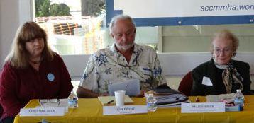 Christine Beck, Don Payne, Mardi Brick